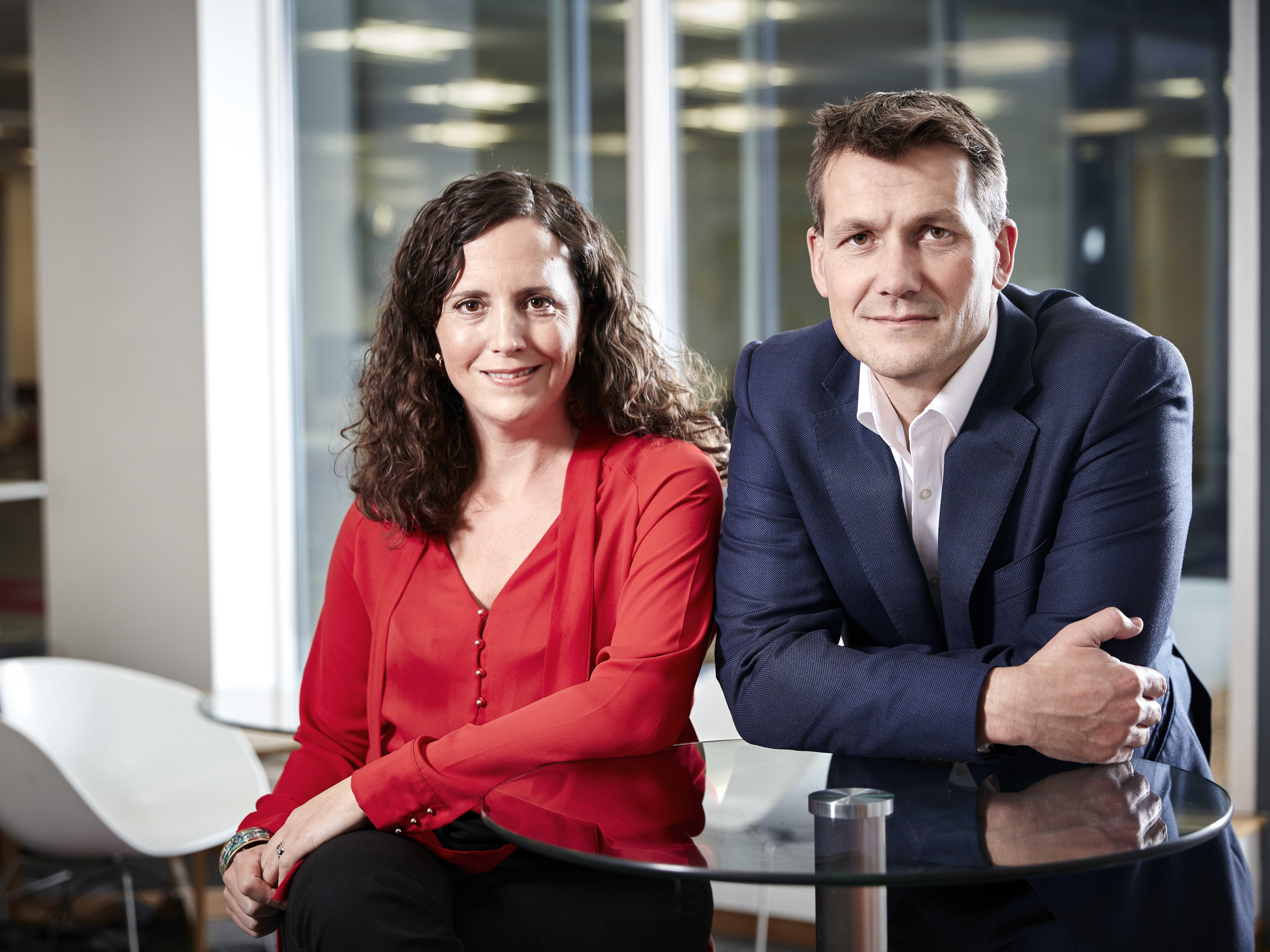 Adam & Carol in the office 300dpi