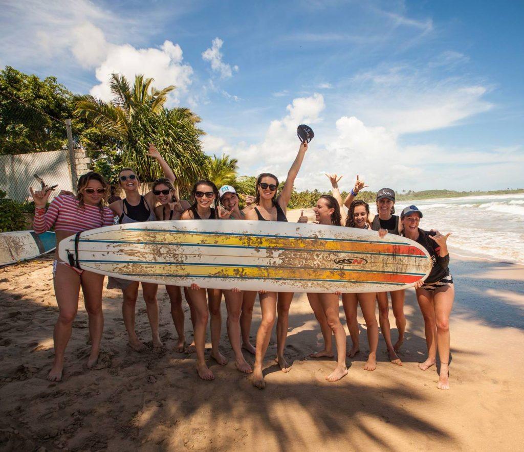 Surf group shot
