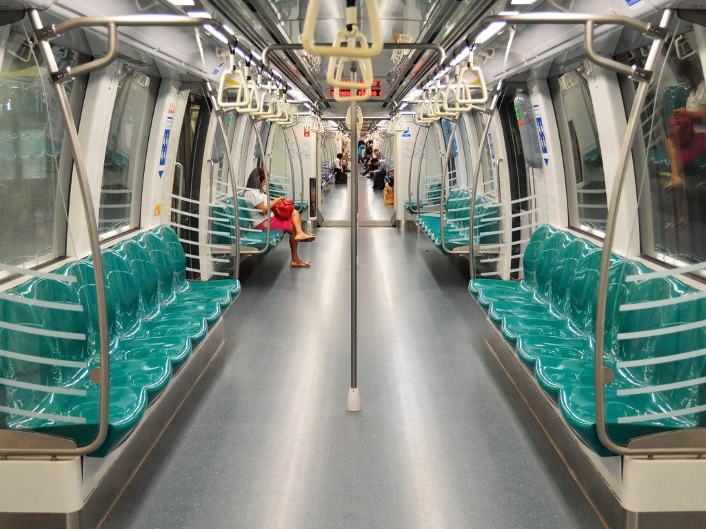 Taipei MRT inside