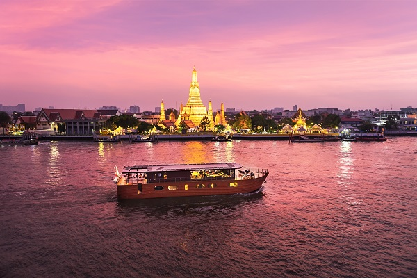 'Loy Pela Voyages' River Cruise Takes its Maiden Journey to Thailand's Lost Kingdom of Ayutthaya